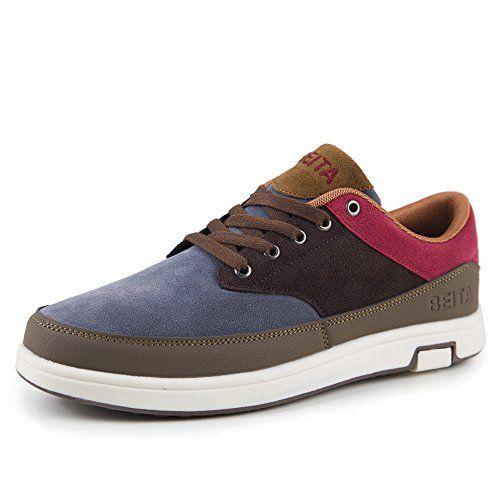 Beita Herren Mode Casual Wildleder Schuhe Lace Up Low Top Atmungsaktiv Sneaker - http://on-line-kaufen.de/beita/beita-herren-mode-casual-wildleder-schuhe-lace-up