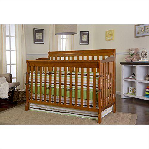 Dream On Me Ashton Convertible 5 In 1 Crib Pecan Http Www Babystoreshop Com Dream On Me Ashton Convertible 5 In 1 Cribs Convertible Crib Bed Frame Mattress