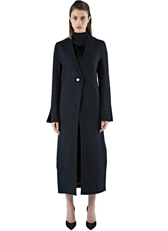 Women's Coats - Clothing   Shop Now at LN-CC - Valda Double-Faced Wool Coat