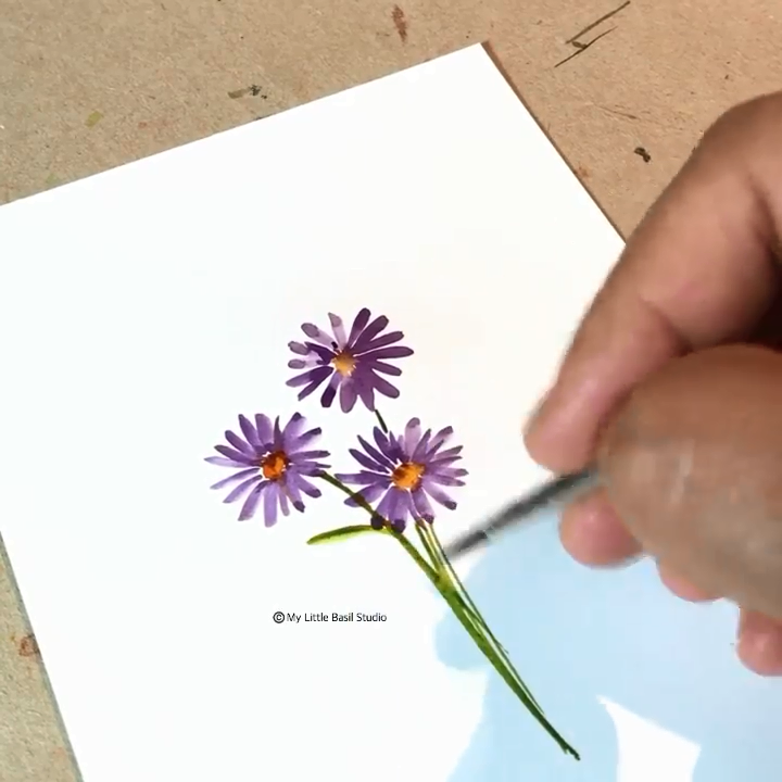 """Watercolor Floral Paintings�www.paperhouse.me�Save $3 with code """"PIN3""""�Paperhouse Stationery"""