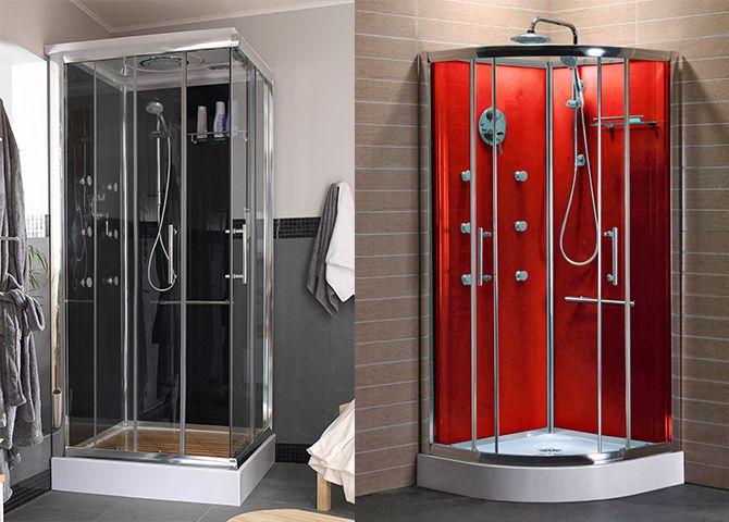 Si tuvieses que elegir una cabina de ducha para tu ba o cu l te gustar a m s negra o roja - Cabina de ducha ...