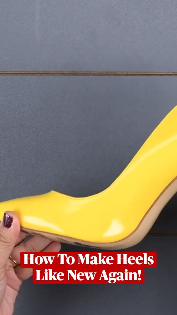 How To Make Heels Like New Again!