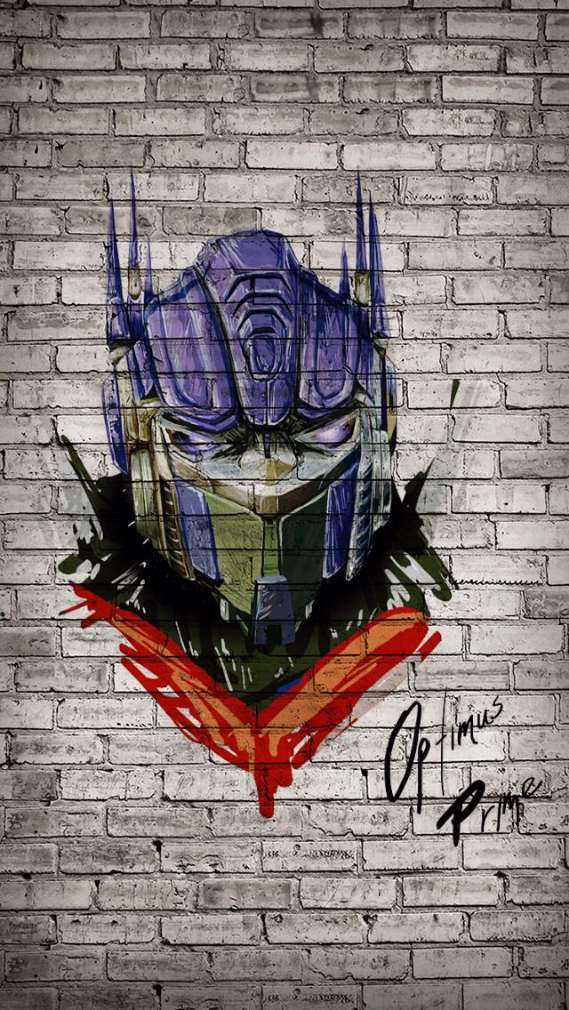 Optimus Prime Graffiti!!! ❤️