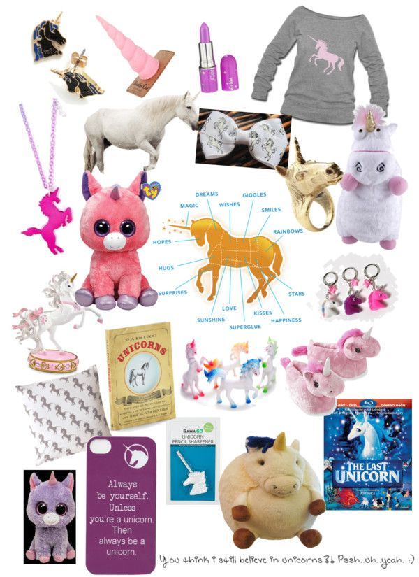 """""""do you believe in unicorns?"""" by littleru33 ❤ liked on Polyvore"""