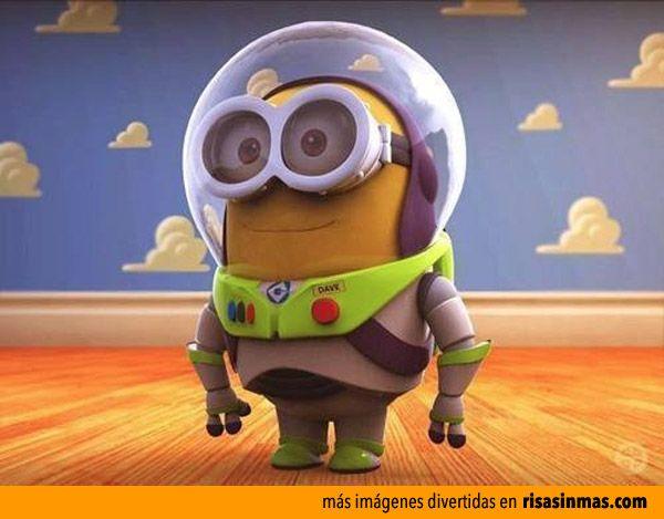 Minion Buzz Lightyear.