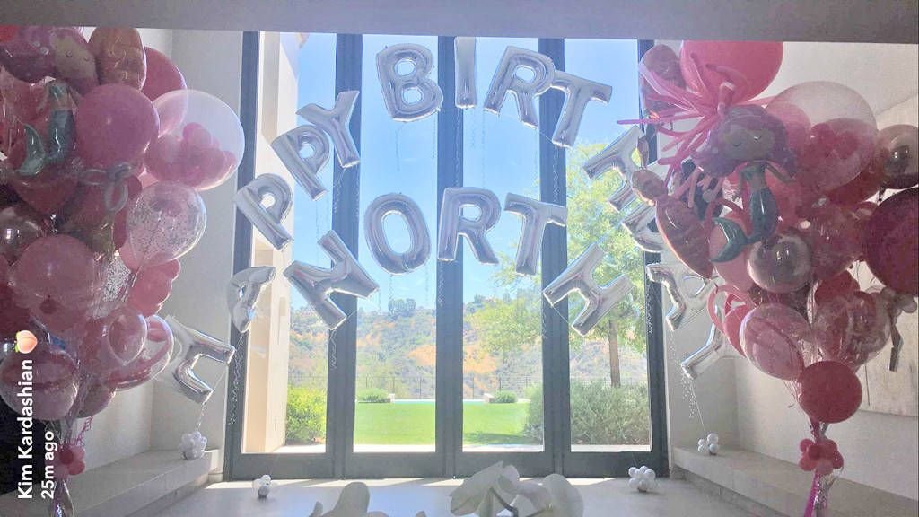 NORTH WESTS 4TH BIRTHDAY BALLOONS