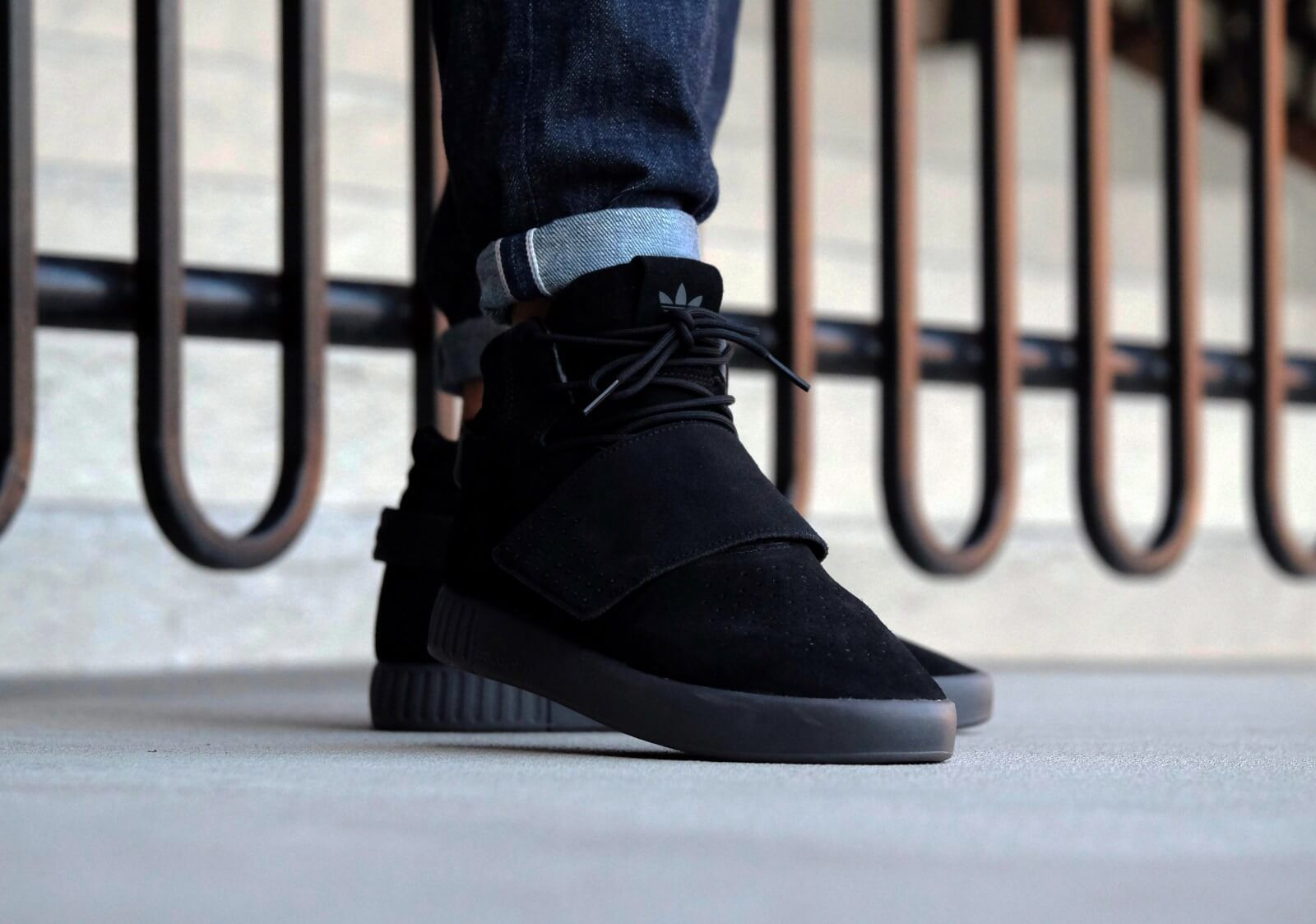 Adidas Tubular Invader Strap Core Black - BB8392  ce146fd89