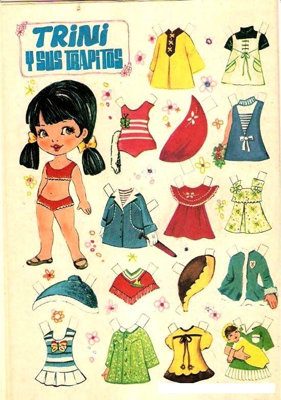Resultado De Imagen Para Muñecas De Papel Para Vestir Y