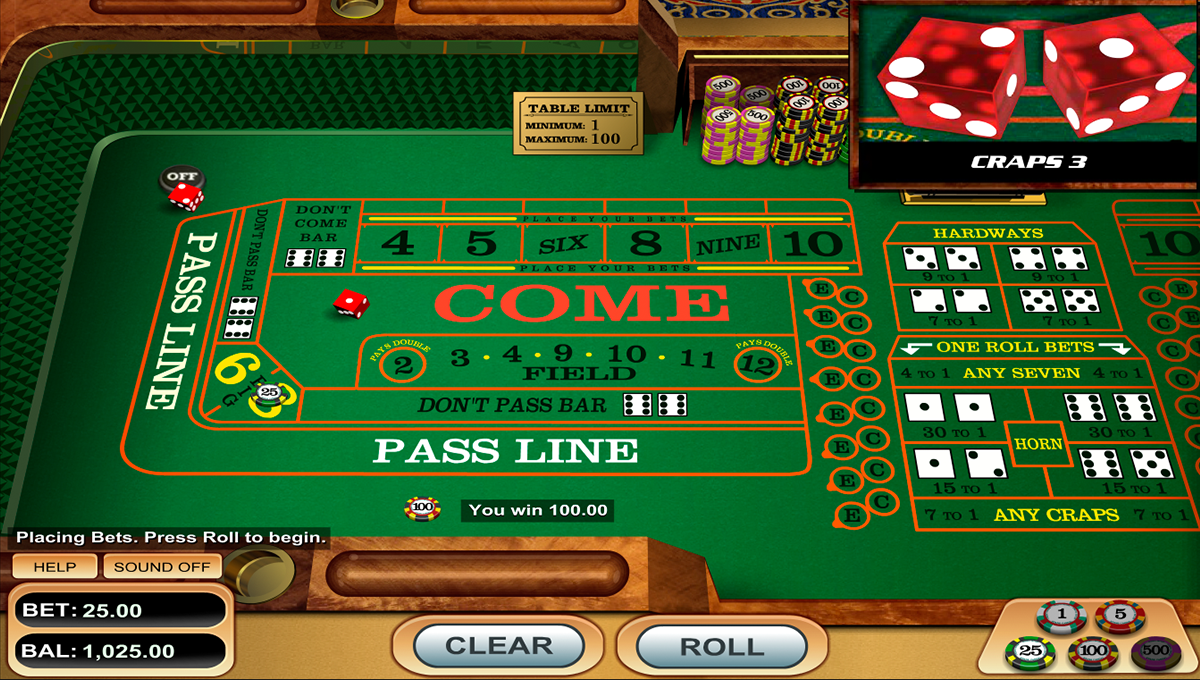 Casino Wrfelspiel