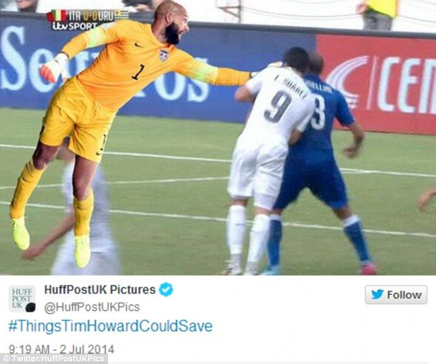 Tim Howard Virals The Best Internet Jokes And Pictures Soccer Quotes Funny Sports Memes Sports Humor