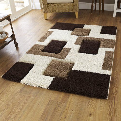 Marlow Home Co Thissell Carving White Rug Wayfair Co Uk In 2020 Shaggy Rug Brown Rug Cheap Rugs