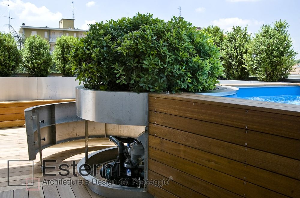 Risultati immagini per paghera terrazzo con piscina garden
