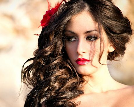 Hairstyles For Hispanic Women Mexican Hairstyles Cute Curly Hairstyles Hair Styles