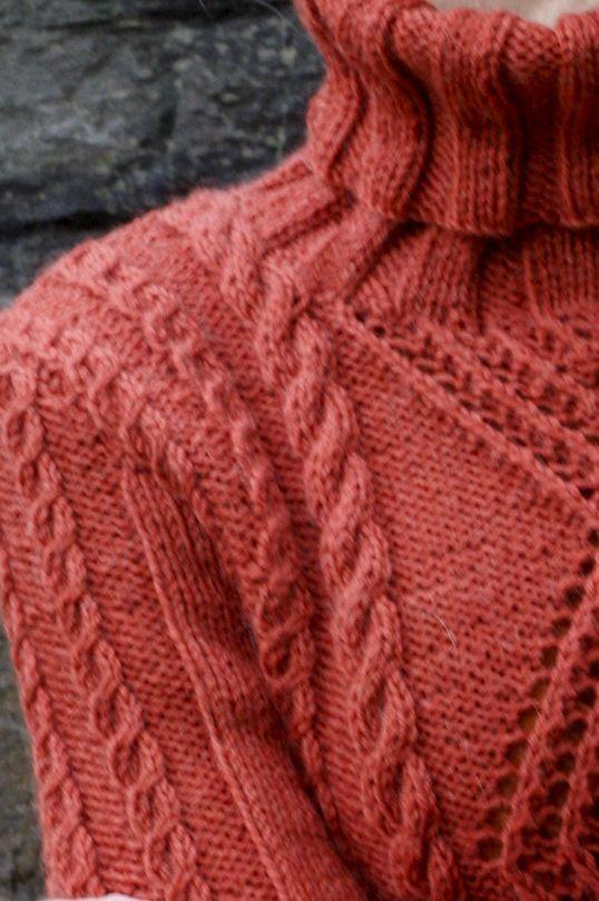Womans Cable Pullover Novita 7 Veljestä (7 Brothers) | Novitaknits