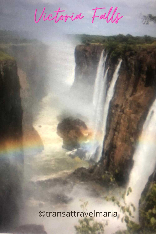 Rainbow Across Victoria Falls In 2020 Victoria Falls Adventure Activities Travel