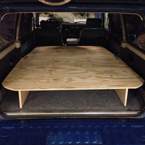 Seajack Totallyvom Fj60 Storage Sleeping Platform Campervan Interior Truck Bed Camping Land Cruiser