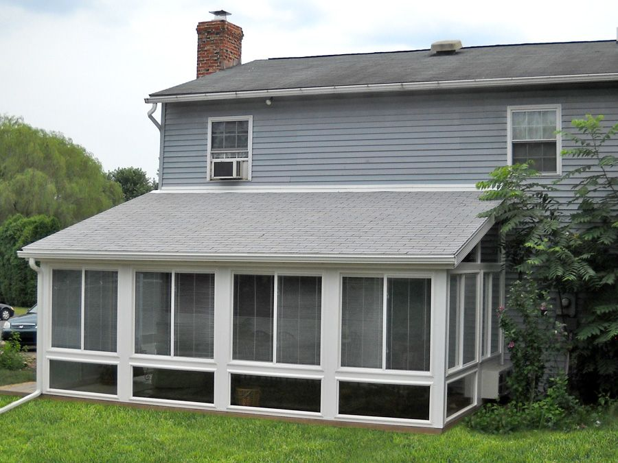 Pictures Of Sunroom Additions | Architecture, : Sunroom Additions Lancaster  PA In White Exterior Color