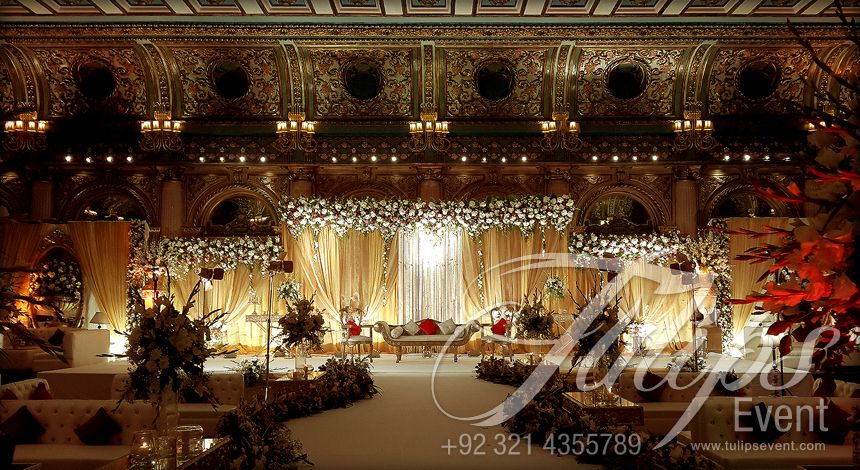 Grand walima stage decor ideas in pakistan lahore pakistan event find the best creative grand walima stage decor ideas in pakistan exclusive sofa sittings floral ramp design ambiance light table arrangements ideas junglespirit Image collections