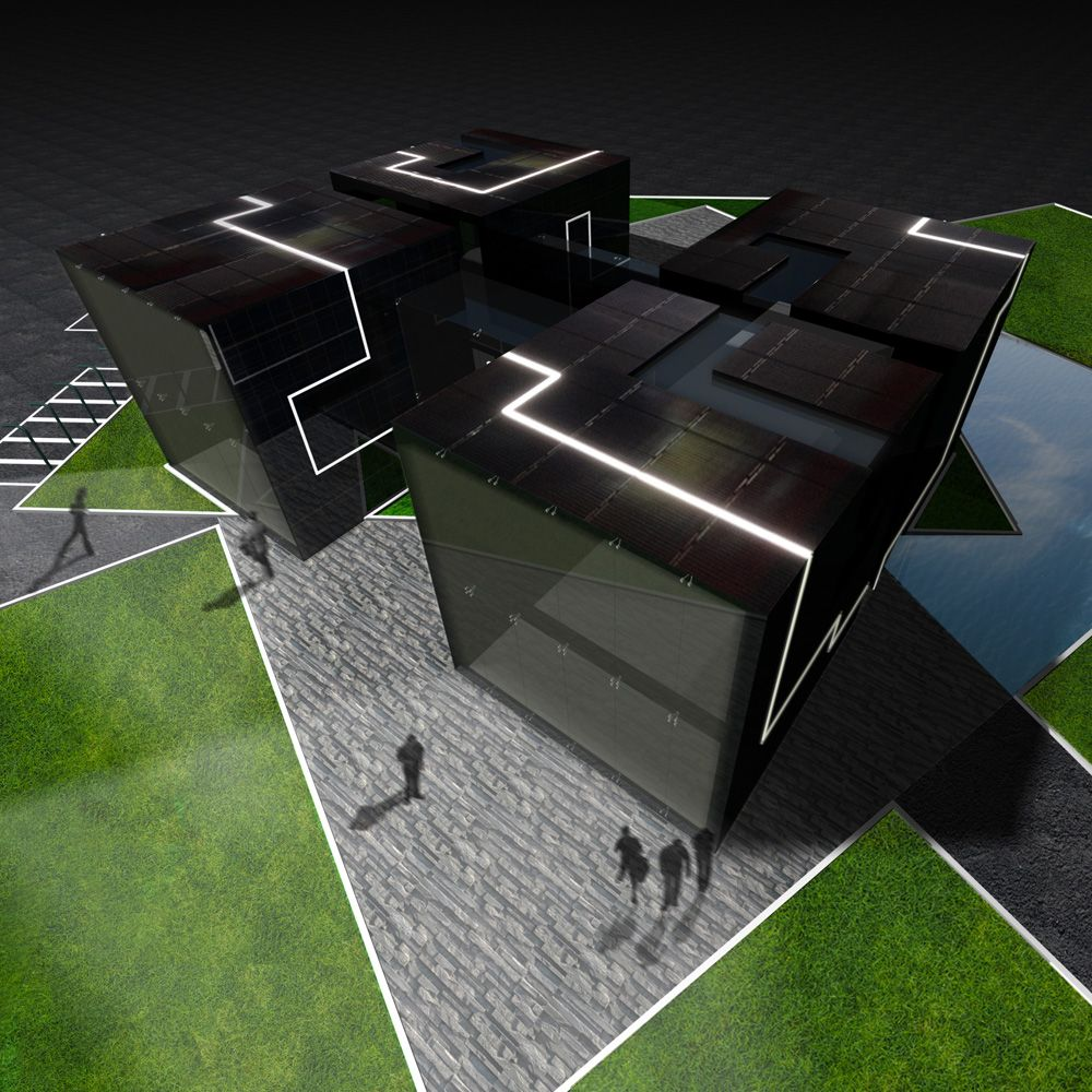 Giant Solar Cubes Might Change Urban Energy Infrastructure | The Creators Project
