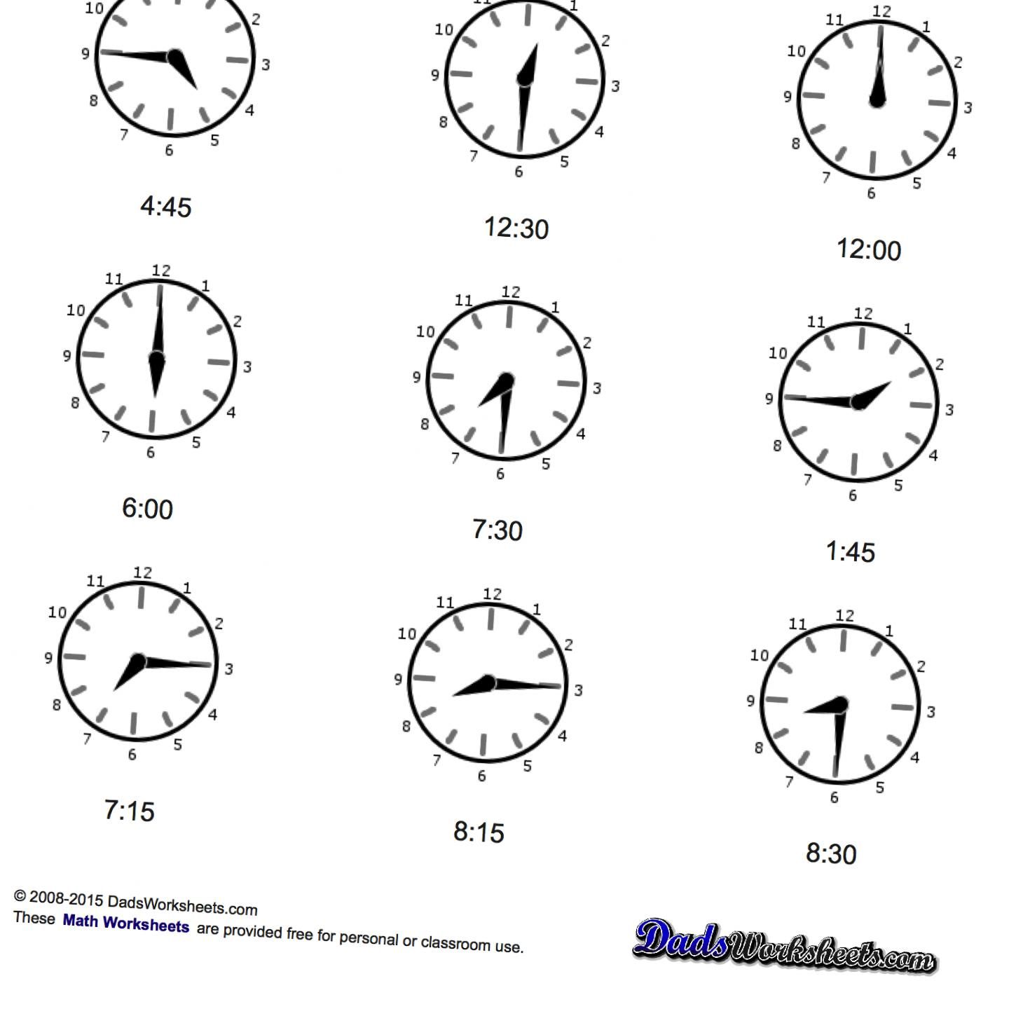 Learning How To Tell Time Doesn T Have To Be Boring Teach