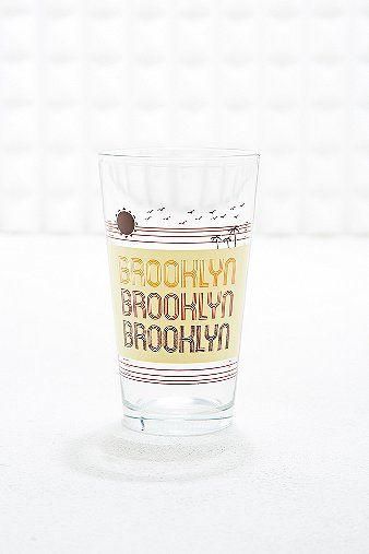 Brooklyn Pint Glass - Urban Outfitters