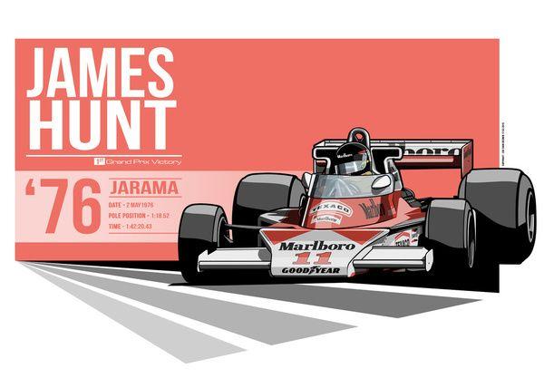James Hunt - 1976 Jarama