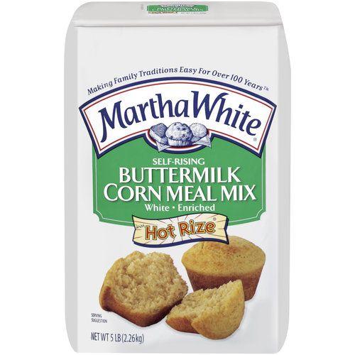 Martha White Buttermilk Corn Meal Mix 5 0 Lb White Corn