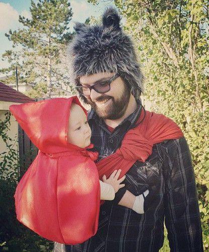 ufficiale più votato scegli genuino funzionario di vendita caldo costumi da lupo e cappuccetto rosso in fascia | Carnevale ...