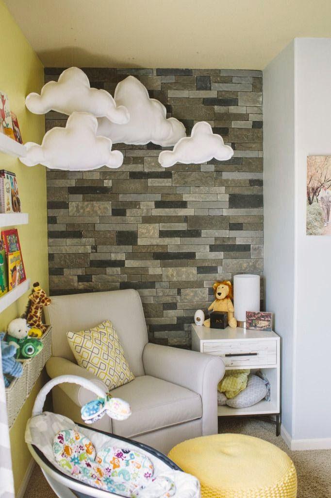 84dfb251 Stylowe wnętrze - cegła w pokoju dziecka - Studio Barw - świat ...