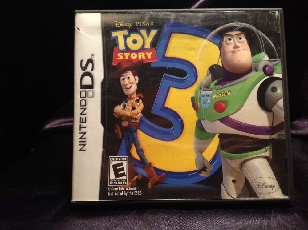 Infinity Toy Story Nintendo Ds Game : Toy story nintendo ds video game comic book love