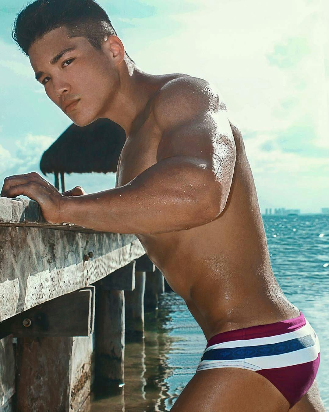 Super hot asian man