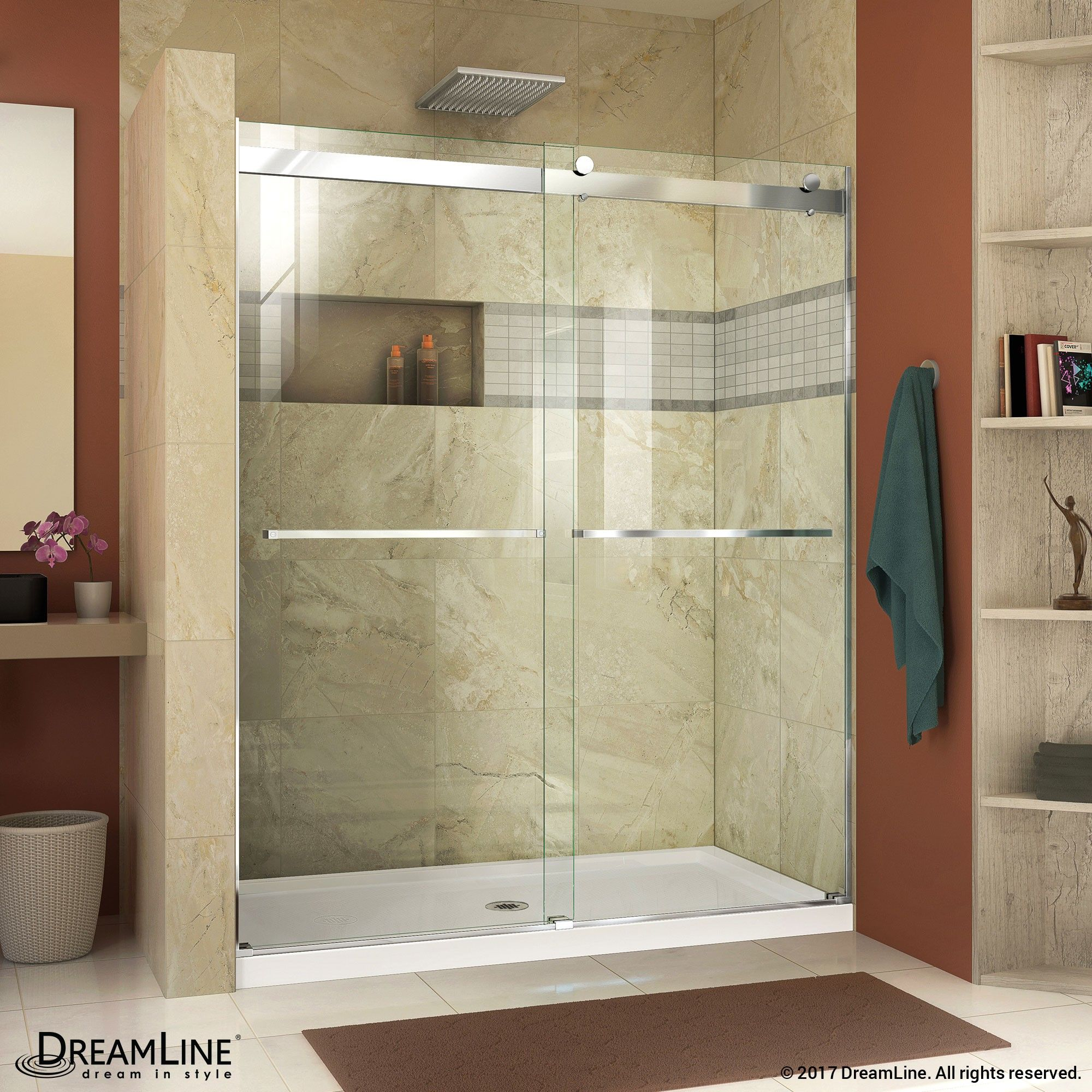 Step Into A Stunning Oasis Every Time You Shower The Dreamline