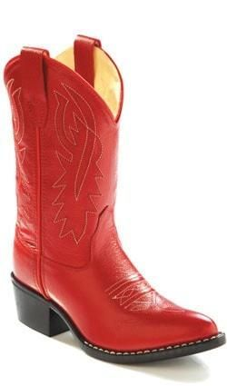 Old West Red Childrens Girls Corona