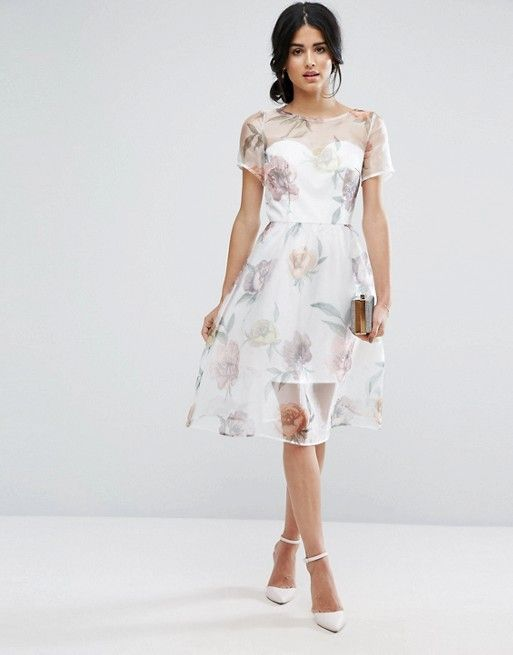15 Fabulous Pastel & Print Dresses for Summer Wedding Guests | Kleider