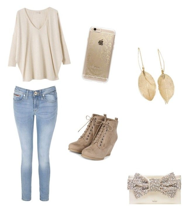 """""""Untitled #76"""" by jennhatchette ❤ liked on Polyvore featuring EAST, Tommy Hilfiger, Kate Spade, Rifle Paper Co, Lulu*s, women's clothing, women's fashion, women, female and woman"""