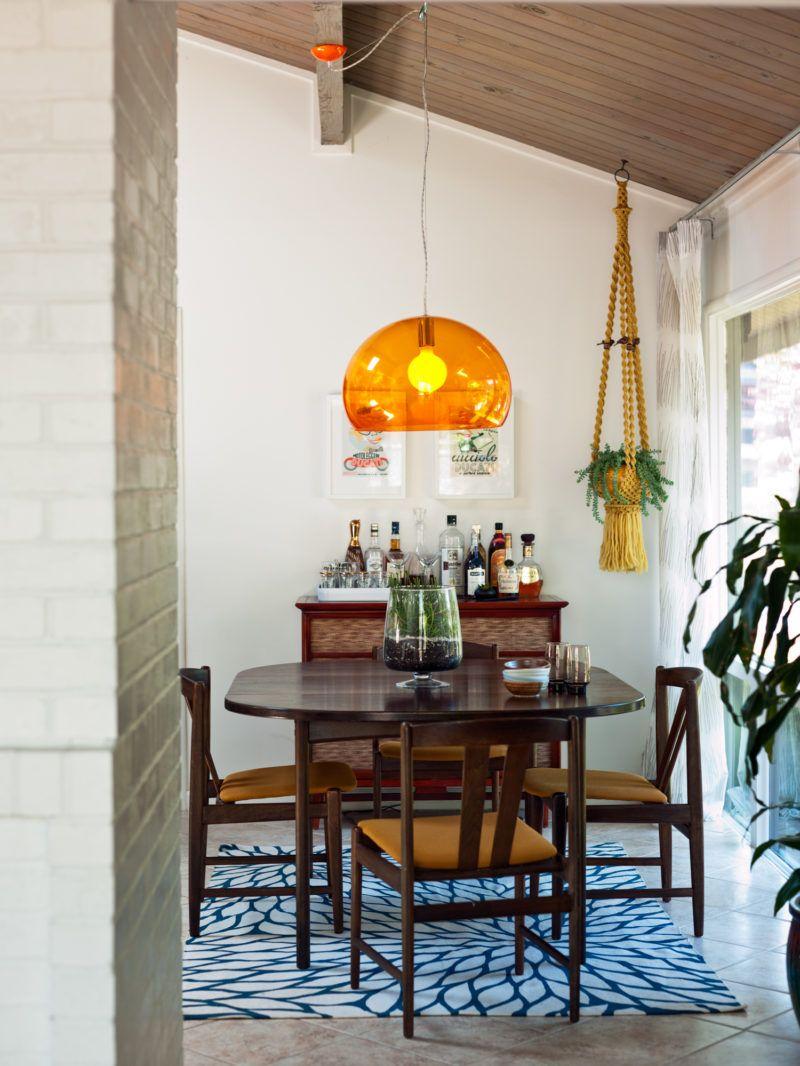 1950s hallway ideas   Boho u Eclectic Decorating Ideas  Hallway  Pinterest  Orange