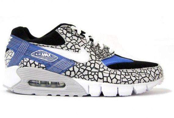 Nike air max 90 current huarache pr elephant   Nike shoes