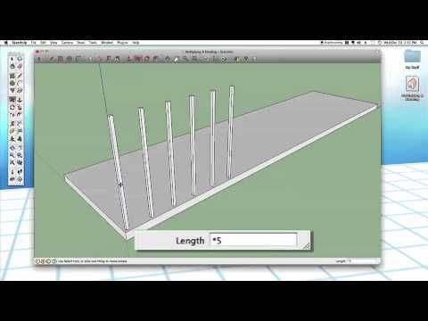 Sketchup 23 Multiply Divide Sketchup Woodworking Software