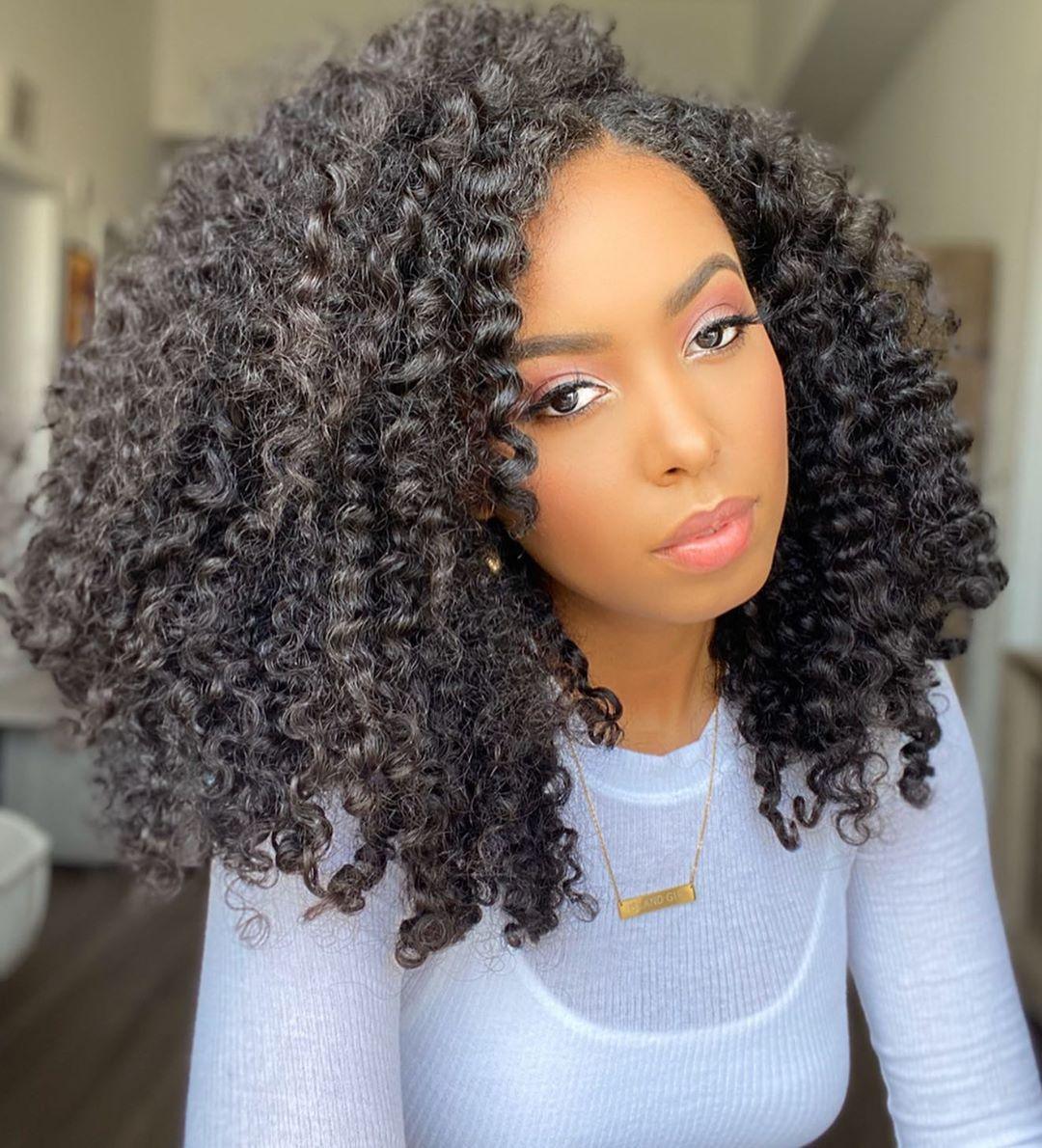 212 Likes 36 Comments Vanessa K Danishrolls On Instagram Hey Guys It S Your Girl Regina George On Braid Out Natural Hair Braid Out Natural Hair Styles