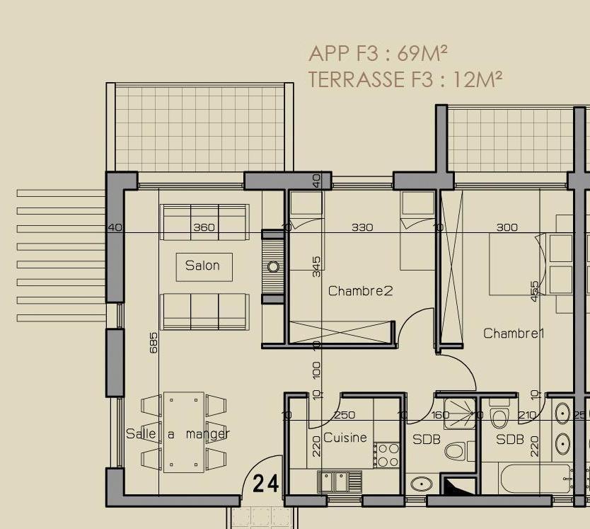 38++ Idee amenagement appartement f3 ideas