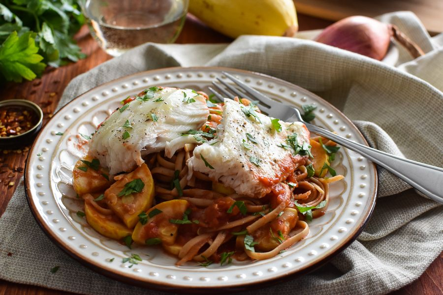 halibut fra diavolo  1 green 1 red 1 yellow 1 tsp with images  healthy recipes healthy