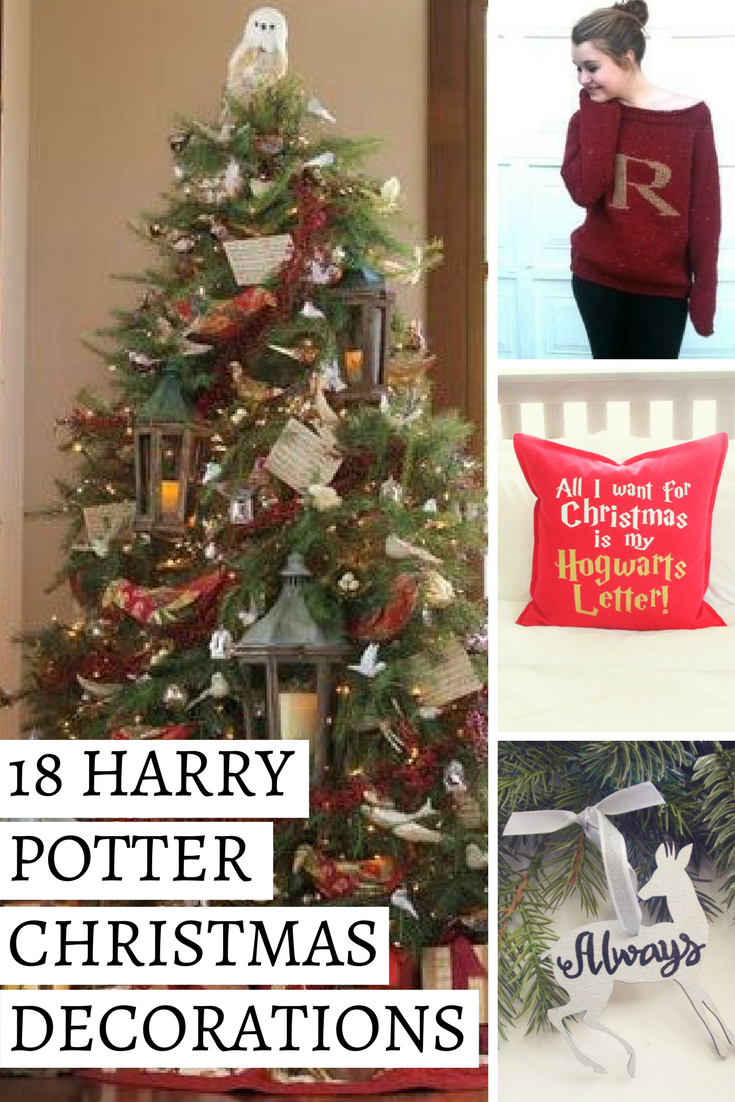 these harry potter christmas gift ideas are perfect for teens for moms or for anyone who loves harry potter including diy decorating ideas too - Harry Potter Christmas Decorating Ideas