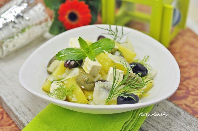 stuttgartcooking: Griechischer Kartoffel-Salat