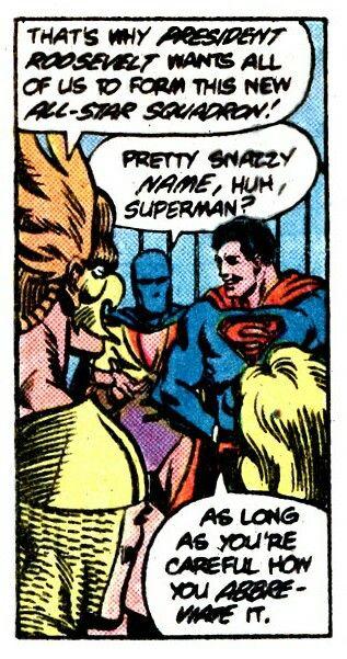 Careful how you abbreviate it, says Superman