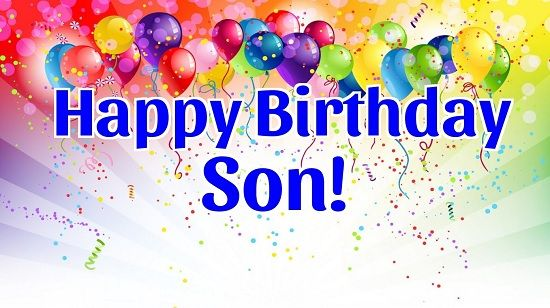 Happy Birthday Son Animated Images