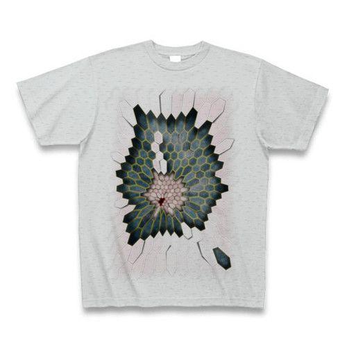 bak IkedaデザインのオリジナルTシャツシリーズです。 Hex1シリーズはこちらの「グレー」のほかに「白」と「シルバーグレー」があります。 【素材】綿100% サイズ S M L XL 身丈(cm) 66 70 74 78 身巾(cm) 49 52 55 58 肩巾(cm) 44 47 50 53 袖丈(cm) 19 20 22 24 ご注文を受けてからプリントを掛けますので納期には数日のお時間を頂きますことをご了承くださいませ。