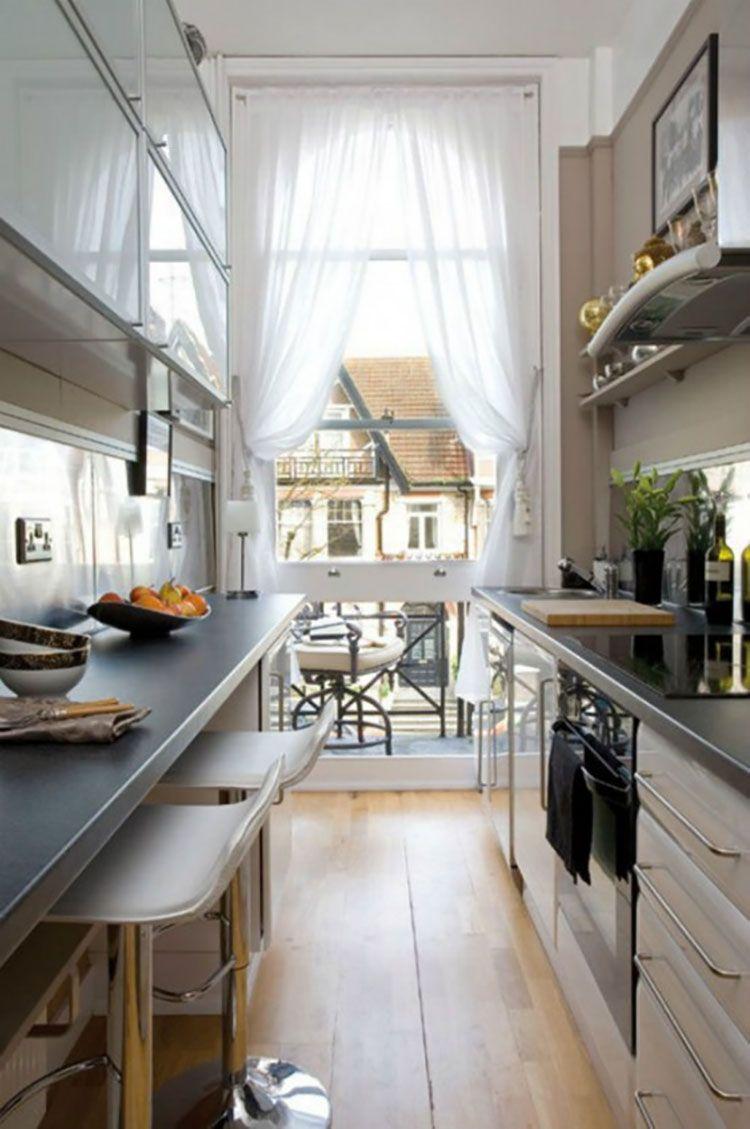 Cucina Stretta E Lunga 20 Pratiche Idee Di Arredamento Mondodesign It Cucina Stretta Strutturazione Cucina Arredamento Moderno Cucina