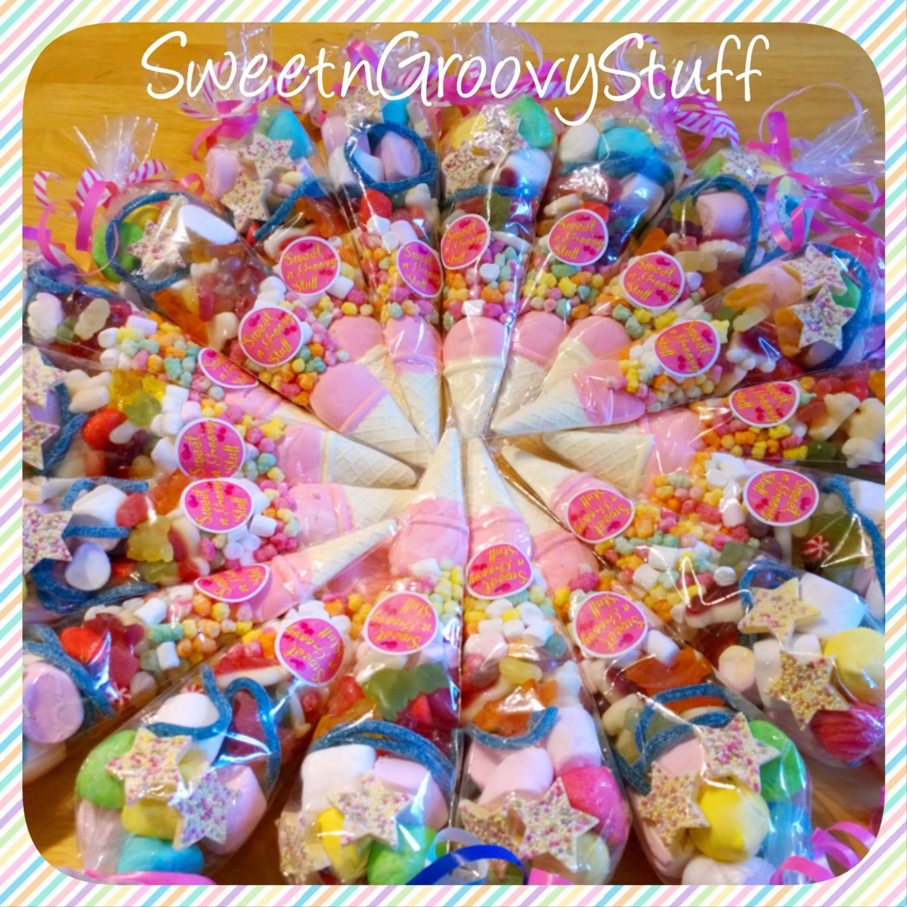 Sweet Cones Make A Great Alternative To The Party Bag