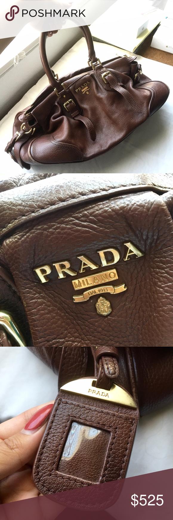 1774f38e75c3 clearance prada milano handbag 100 authentic this is a beautiful grained  calf leather handbag in ae0f3