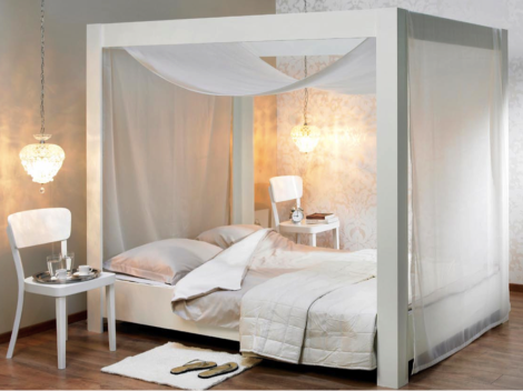 Hemelbed In Slaapkamer : Zelfmaakidee hemelbed objects hemelbed slaapkamer